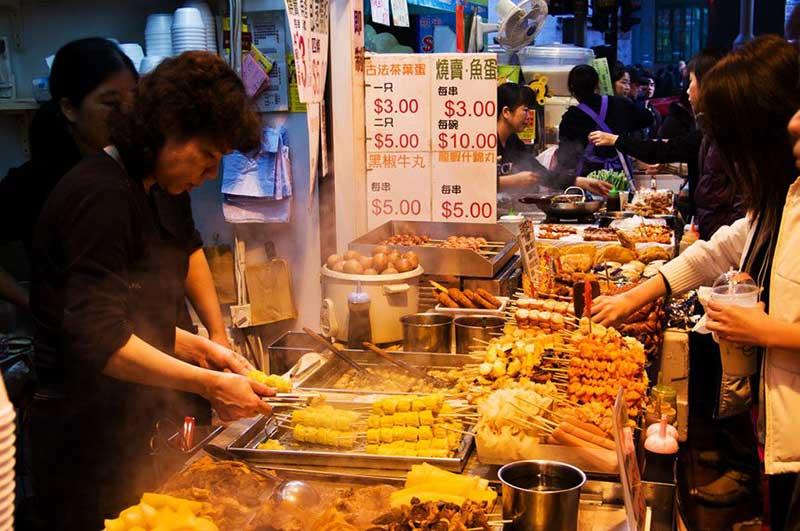 Ẩm thực đường phố Hongkong