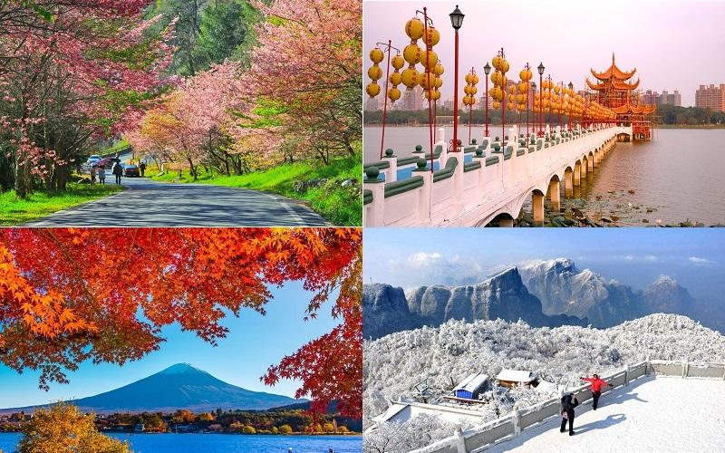 Lựa chọn thời điểm thích hợp khi đến Đài Loan