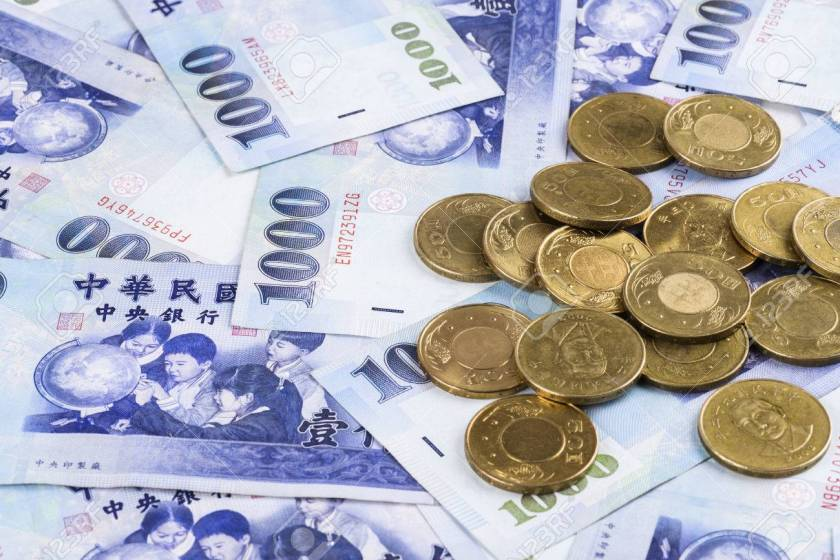 Chuẩn bị tiền có giá trị sử dụng bên Đài Loan