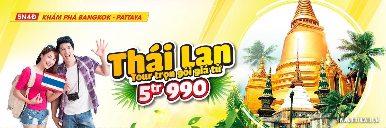 Chi phí du lịch Thái Lan theo tour